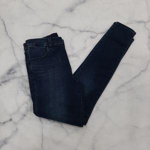 J Brand Maria High-Rise Skinny Jeans Fasten